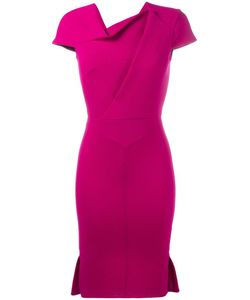 Roland Mouret | Farrant Dress 14 Wool/Silk/Spandex/Elastane