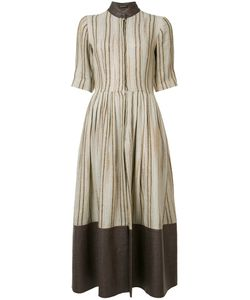 Sophie Theallet | Striped Flared Dress Size 10