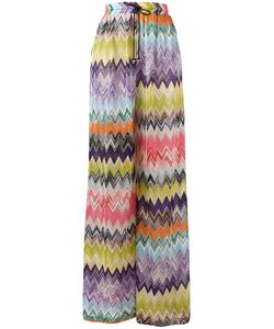 Missoni | Zig Zag Fla Trousers 40 Viscose