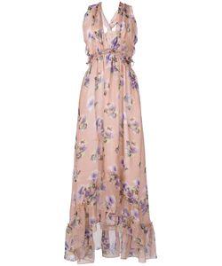 MSGM | Платье С Цветочным Рисунком