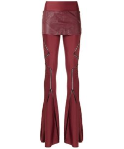 Andrea Bogosian | Flared Panelled Trousers Size P