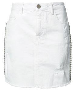 Etienne Marcel | Studded Skirt Small Cotton/Spandex/Elastane