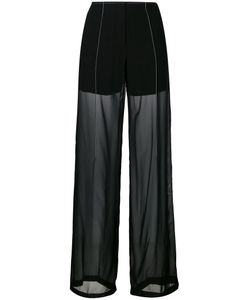 DKNY | Sheer Relaxed Trousers 4