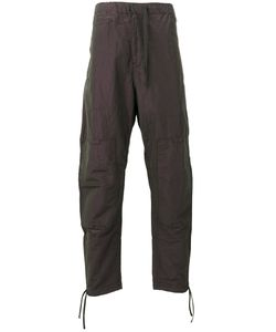 STONE ISLAND SHADOW PROJECT | Iridescent Effect Loose-Fit Trousers Size 48