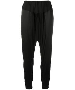 Tsumori Chisato | Drop-Crotch Straight Trousers 2 Silk/Cupro/Lyocell