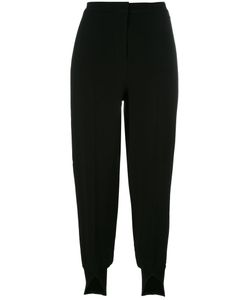 Twin-set | Slit Cuff Cropped Trousers 40 Viscose/Spandex/Elastane