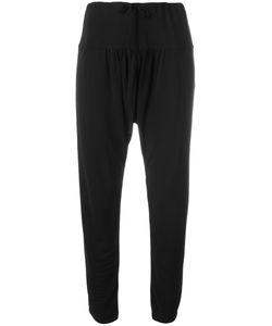 Tsumori Chisato | Drop-Crotch Straight Trousers 3 Polyester/Rayon