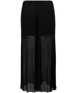 Armani Collezioni | Pleated Detail Fla Pants 44 Polyester