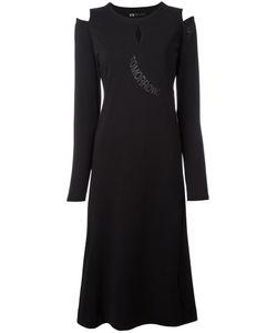 Y-3 | Cut-Out Shoulders Midi Dress Size Xs