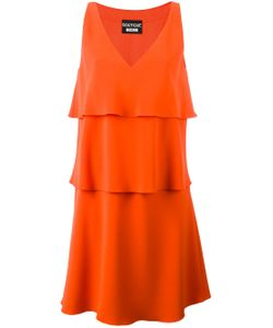 BOUTIQUE MOSCHINO | Layered V-Neck Dress