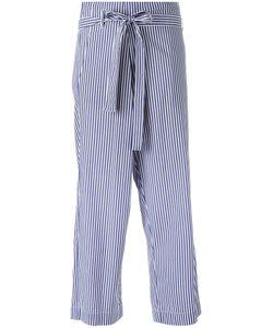P.A.R.O.S.H. | P.A.R.O.S.H. Striped Cropped Trousers S