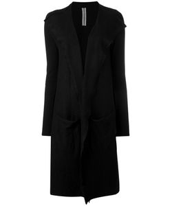 Rick Owens | Draped Open Front Cardigan Coat Large