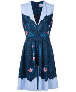 Preen By Thornton Bregazzi | Printed Dress Medium Polyester/Spandex/Elastane