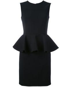 Saint Laurent | Peplum Waist Mini Dress 38 Silk/Polyamide/Spandex/Elastane/Virgin