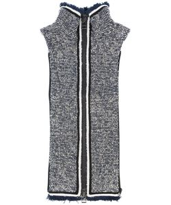 Veronica Beard | Luca Turtleneck Zip Gilet Women