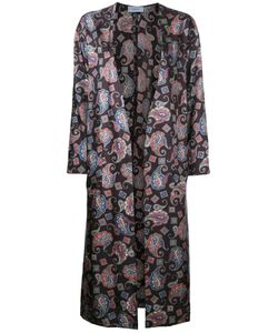ASTRAET | Printed Long Coat 1 Polyester