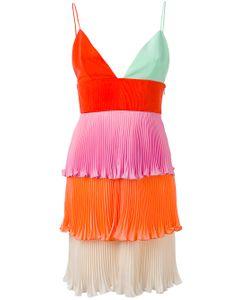 Fausto Puglisi | Tiered Mini Pleat Dress