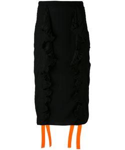 Marco De Vincenzo | Gathered Sides Skirt