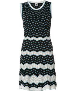 Missoni | M Zig Zag Pattern Dress 42 Polyester/Cotton/Polyamide