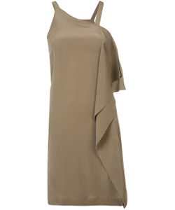 Isabel Benenato | Asymmetric Drape Dress