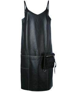 Alyx | Кожаное Платье Шифт С V-Образным Вырезом