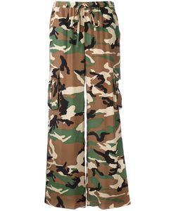 P.A.R.O.S.H. | P.A.R.O.S.H. Camouflage Print Trousers M