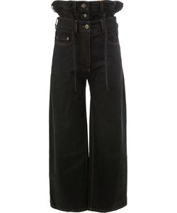 Y / PROJECT | Frill High Waisted Jeans Women
