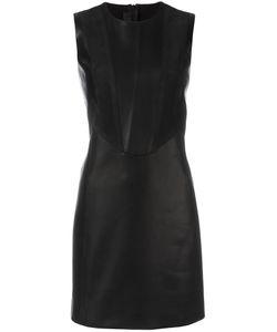Neil Barrett | Fitted Dress Medium Polyester/Viscose/Lamb Skin/Spandex/Elastane