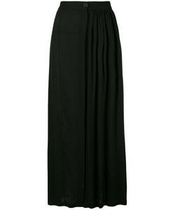 Ann Demeulemeester | Gathe Front Straight Skirt 34 Rayon
