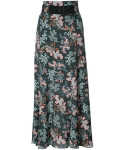 Dorothee Schumacher | Print Draped Skirt 1 Viscose/Silk