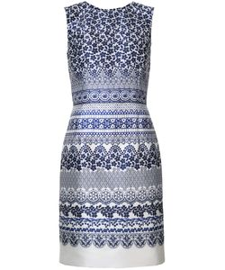 Oscar de la Renta | Print Shift Dress
