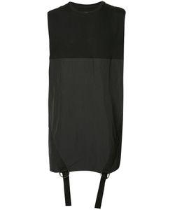 BYUNGMUN SEO | Straps Detail Sleeveless T-Shirt 50 Cotton/Spandex/Elastane