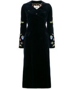 BAZAR DELUXE | Embroidered Sleeve Coat Women