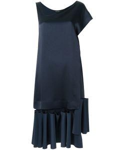 GLORIA COELHO   Ruffled Dress P