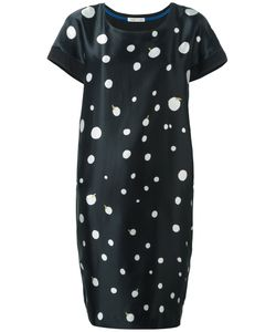 Tsumori Chisato | Circle Print Dress 3 Silk/Cotton