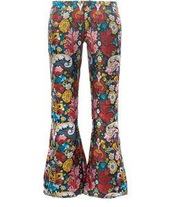 Marques Almeida | Marquesalmeida Printed Cropped Trousers 6