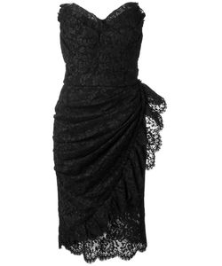 Dolce & Gabbana | Lace Strapless Dress 42 Cotton/Viscose/Polyamide/Spandex/Elastane