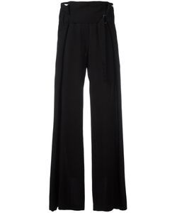 Ann Demeulemeester | Draped Belted Waist Trousers Size 34 Virgin