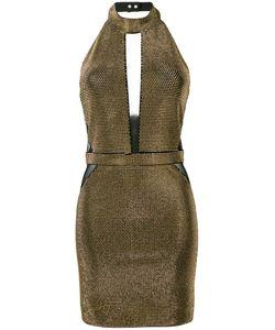 Balmain | Fitted Halterneck Dress