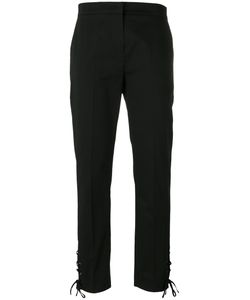 Max Mara | Lace Detail Trousers 44 Cotton/Spandex/Elastane