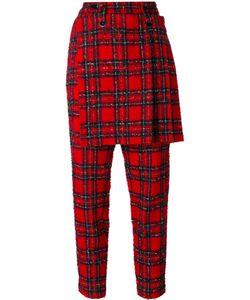 YOHJI YAMAMOTO VINTAGE | Tartan Skirt Trousers 2