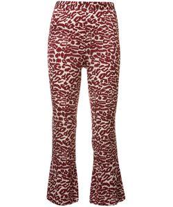 Piamita | Printed Cropped Trousers Xs Silk/Spandex/Elastane