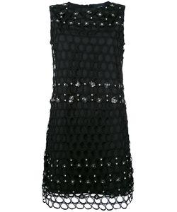 Class Roberto Cavalli | Net Detail Dress 42 Polyester