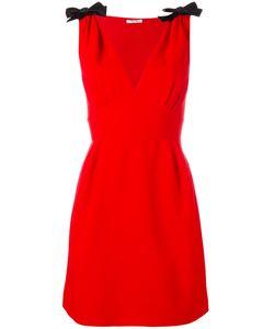 Miu Miu | Shoulder Bows Flared Dress Size 42
