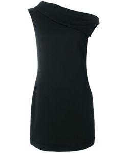 Helmut Lang | Платье С Асимметричным Воротом