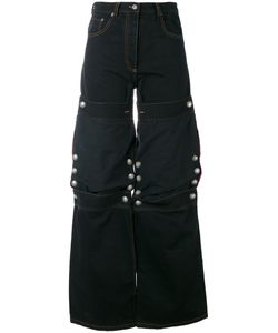 Y / PROJECT | Stud Detail Knee Patch Jeans