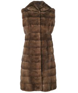 Liska | Fur Detail Coat