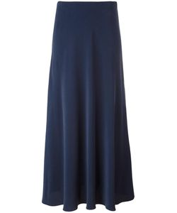 Cedric Charlier | Cédric Charlier Side Split Midi Skirt 40 Silk