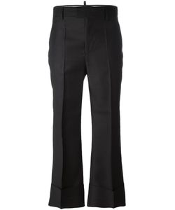 Dsquared2 | Cropped Tailo Flare Trousers 36 Silk/Polyester/Virgin Wool