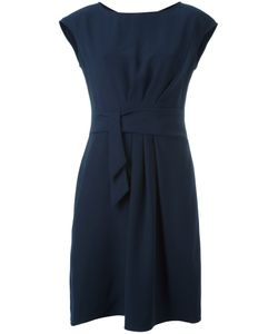 Armani Collezioni | Draped Front Dress 46 Polyester